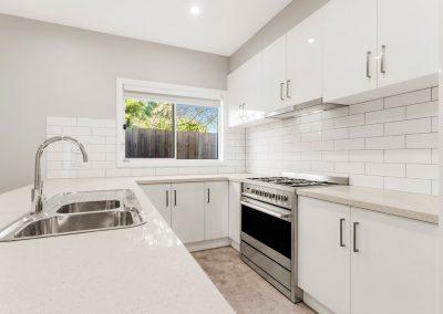 Reservoir unit development - kitchen