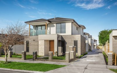 Reservoir classy five-unit development by Spring Homes